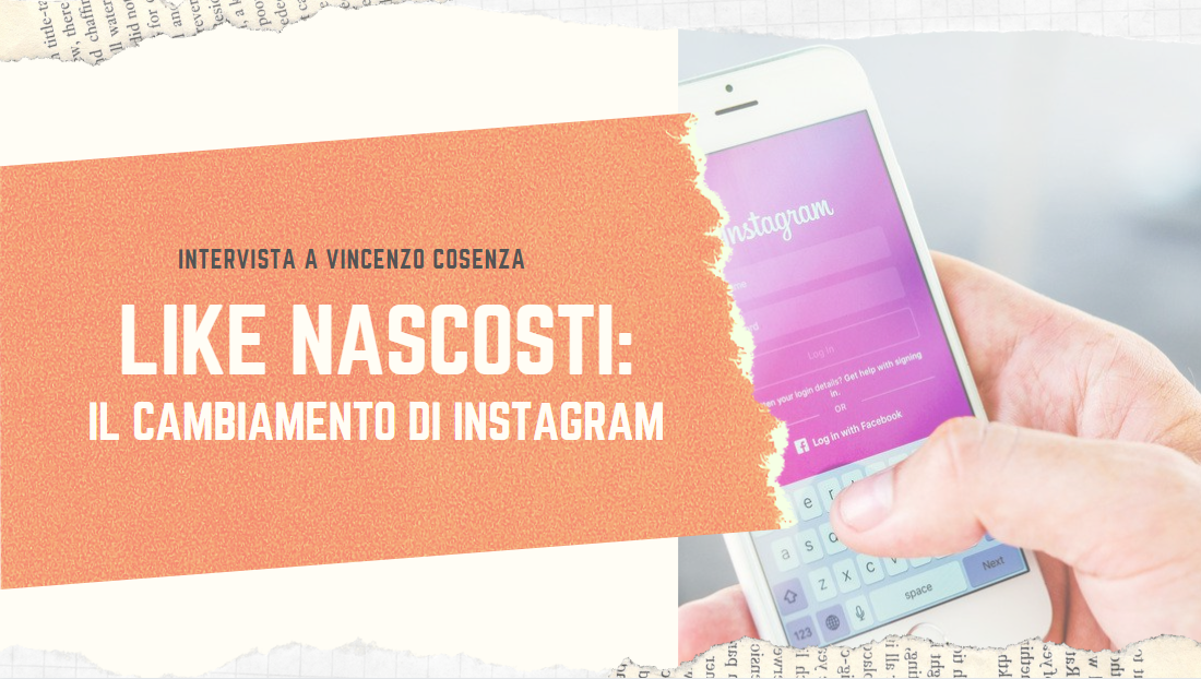 Instagram nasconde i like cosa cambia